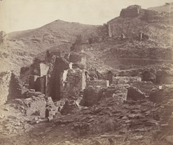 Ruins of ancient Buddhist settlement, Takht-i-Bahi